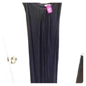 Agaci navy blue Maxi dress